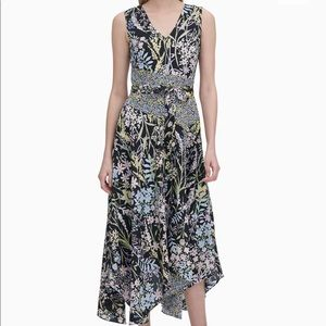 "NWT ""CALVIN KLEIN"" FLORAL DRESS SIZE 10"